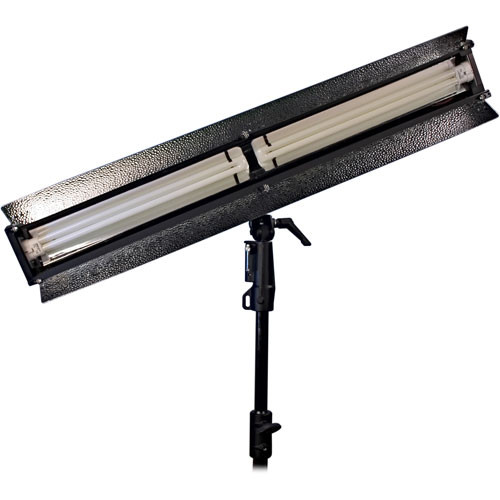ikan Double Line 2-Tube Light with DMX Dimming (110W, 120 VAC)