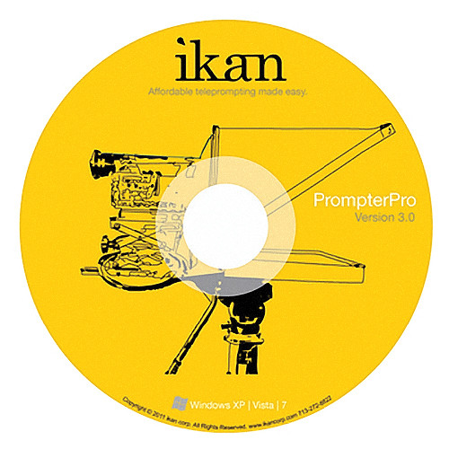 ikan PrompterPro 3 Teleprompting Software for PC & Mac (Disc)