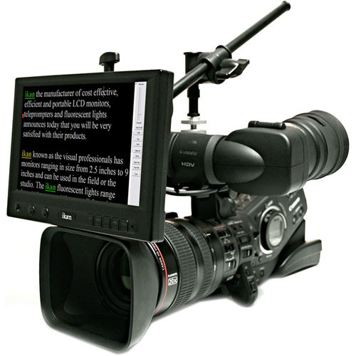 """ikan 8"""" On-Camera Widescreen Teleprompter"""