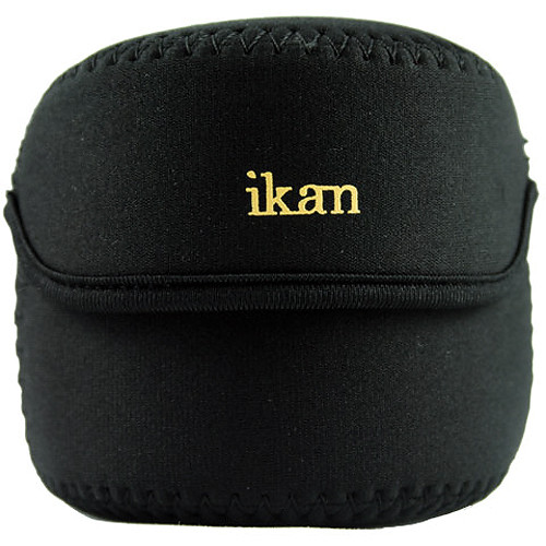 "ikan Soft Lens Bag (3"", Black)"