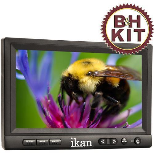 """ikan V-8000HDMI 8"""" LCD Monitor"""