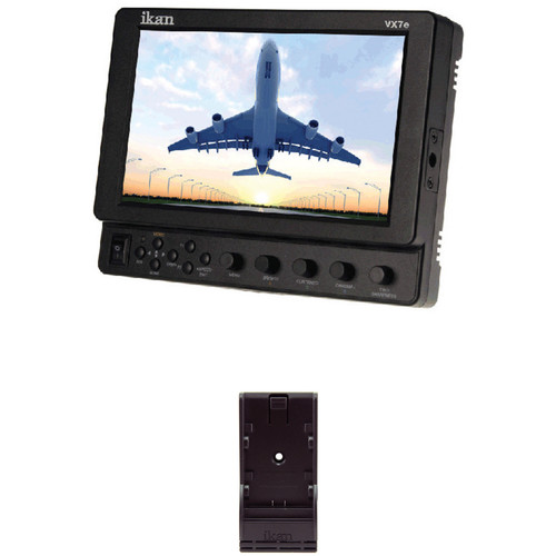 "ikan 7"" HD-SDI LCD Monitor with Peaking & False Color"