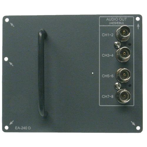 Ikegami EA-240D 8-Channel AES/EBU Audio Output Module