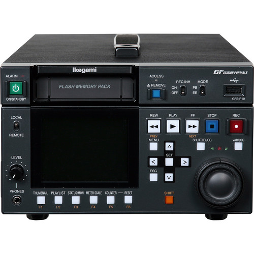 Ikegami GFS-P10 GFSTATION  Portable Flash Memory Recorder