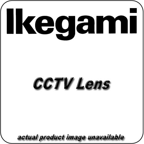 "Ikegami IK-12VM412ASIR 1/2"" C Mount 4-12mm f/1.2 Varifocal Manual Iris Lens"