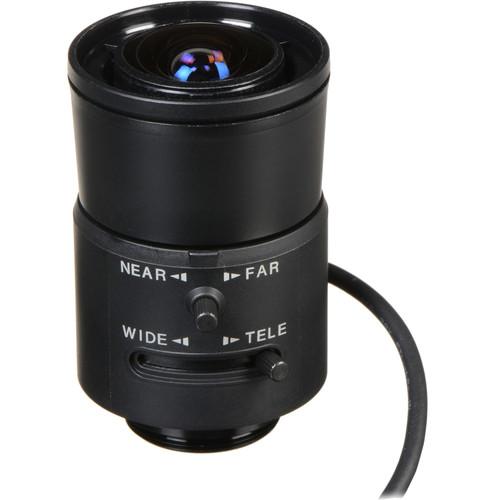 "Ikegami IK-DV5X3.6R4B-SA2L 1/2"" CS Mount 3.6-18mm f/1.8 Varifocal Auto Iris Lens (with Long AI Cable)"
