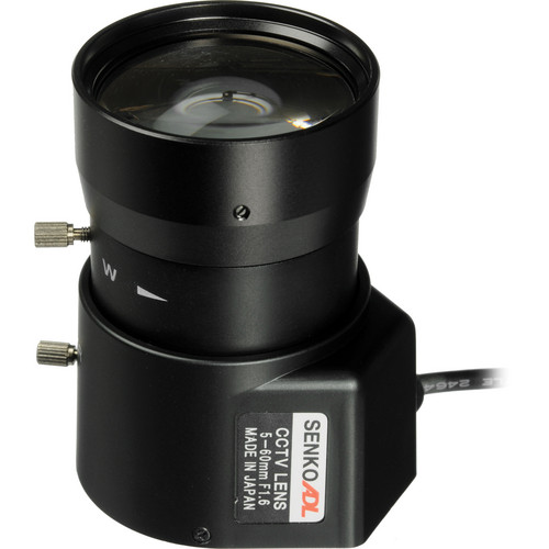 "Ikegami IK-TV12X0516D 1/3"" CS Mount 5-60mm Lens with Auto Iris DC"