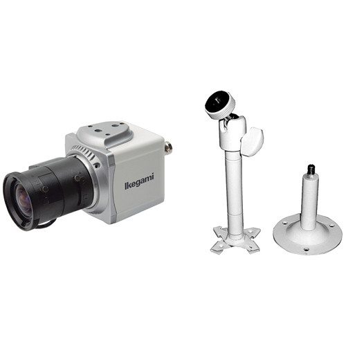 Ikegami ISD-A15 Hyper Wide Light Dynamic Compact Cube Camera Kit (2.8-12mm)