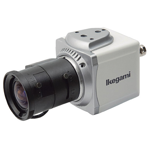 Ikegami ISD-A15TDN-LENS2812 Compact Cube Day/Night Camera with Built-in Lens