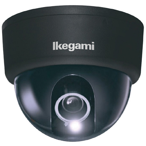 Ikegami ISD-A33 Type 31 Hyper Wide Light Dynamic Indoor Dome Camera (Black)