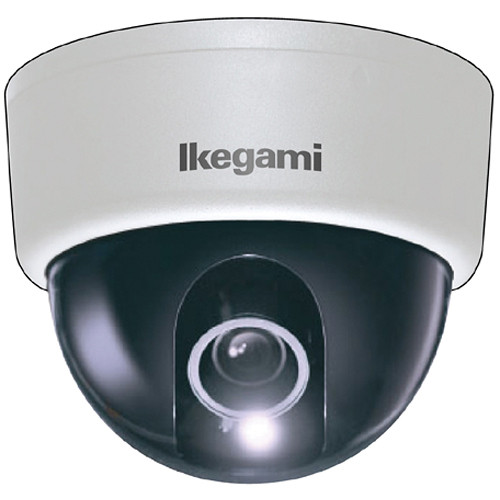 Ikegami ISD-A33 Type 92 Hyper Wide Light Dynamic Indoor Dome Camera (White)