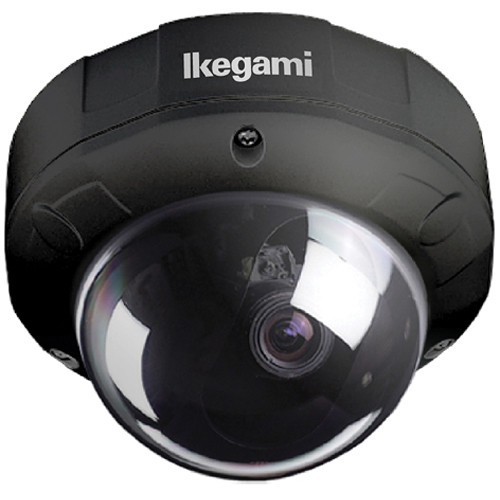 Ikegami ISD-A35 Type 92 Vandal-Resistant Hyper-Dynamic Dome Camera (Black)