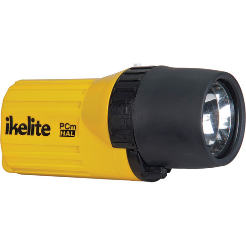 Ikelite 1568 PCm Series Mighty Mini Halogen Dive Lite w/ Batteries (Yellow)
