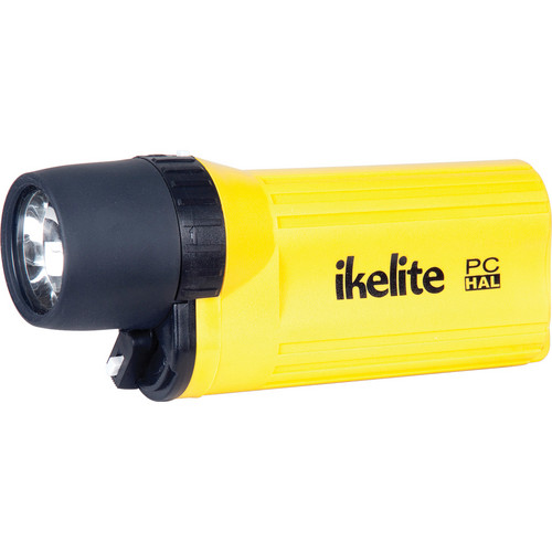 Ikelite 1580.00 PC Series Pocket Perfect Halogen Dive Lite w/o Batteries (Yellow)