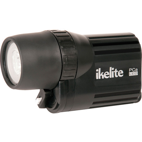 Ikelite 1770 PCa Series All Around LED Dive Lite with Batteries (Black)