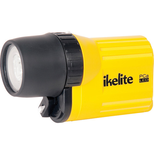 Ikelite 1778 PCa Series All Around LED Dive Lite with Batteries (Yellow)