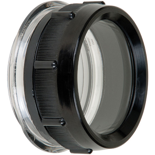 "Ikelite FL Flat Port for Lenses up to 2.5"" in DSLR Housings"