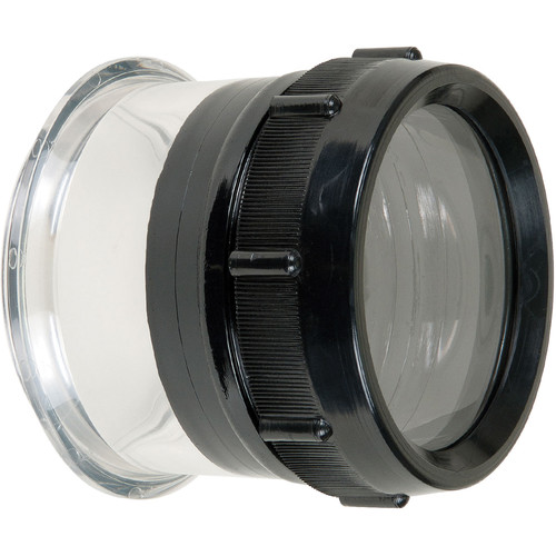 "Ikelite FL Flat Port for Lenses up to 4.1"" in DSLR Housings"