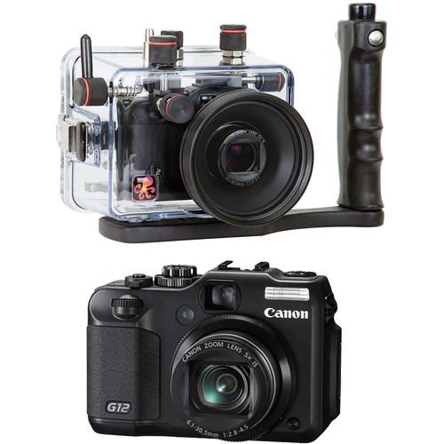 Ikelite 6146.12 TTL Underwater Housing/ Canon PowerShot G12 Camera Kit