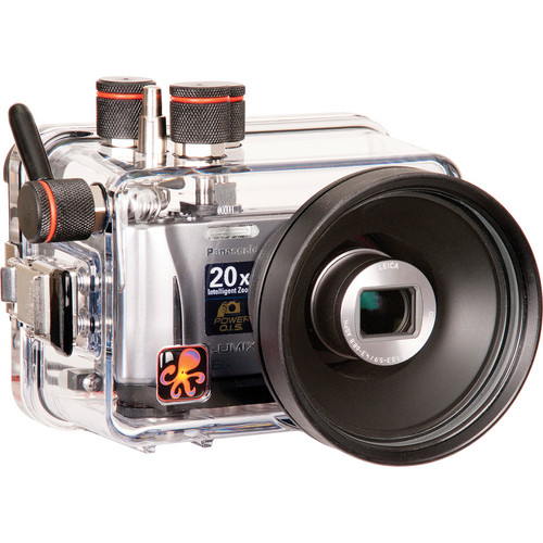 Ikelite Underwater Housing for Select Panasonic ZS and TZ Series and Leica V-LUX 30 Digital Cameras