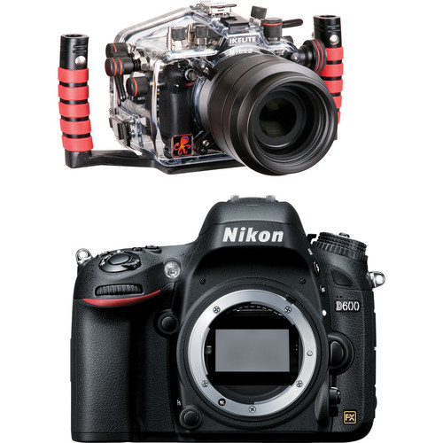 Ikelite 6812.6 Underwater Housing Kit with Nikon D600 Digital Camera Body