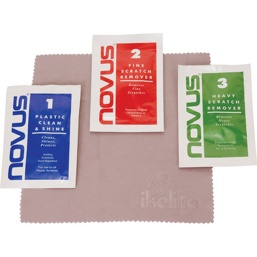 Ikelite Novus Polish for Acrylic Domes (Single-Use Packets)