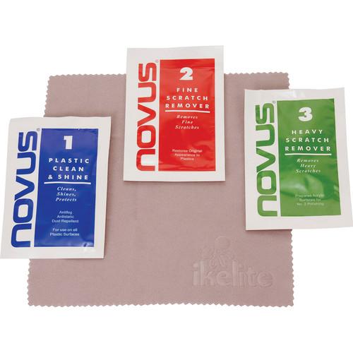 Ikelite Novus Polish for Acrylic Domes (Single-Use Packets)