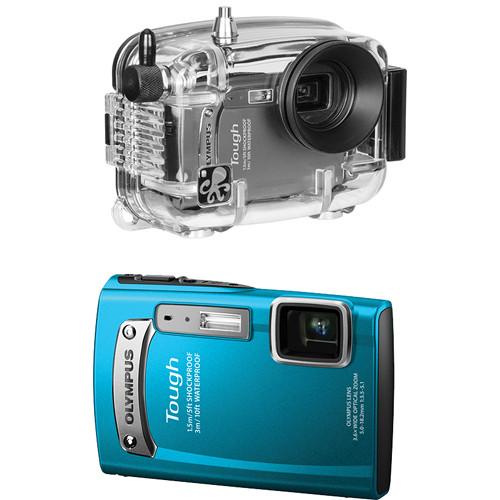 Ikelite 6231.31 Underwater Housing with Olympus Tough TG-320 Digital Camera Kit