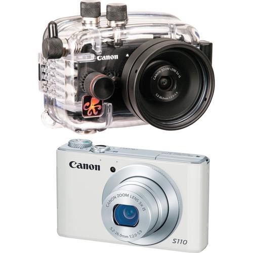 Ikelite 6242.11 Compact Digital Underwater Housing Kit with Canon PowerShot S110 Digital Camera