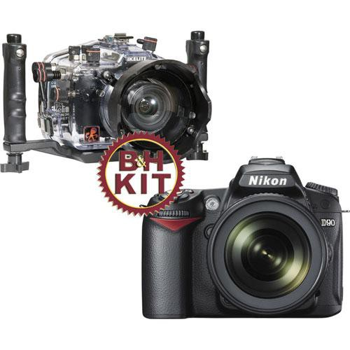 Ikelite #6809.1 TTL Underwater Housing w/ Nikon D90