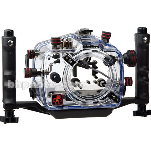 Ikelite 6871.20 eTTL Underwater Housing for Canon EOS 20D Digital Camera - Rated up to 200'