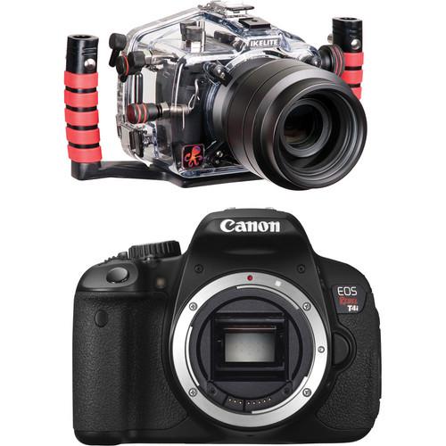 Ikelite 6871.65 Underwater Housing Kit with Canon EOS Rebel T4i Camera Body