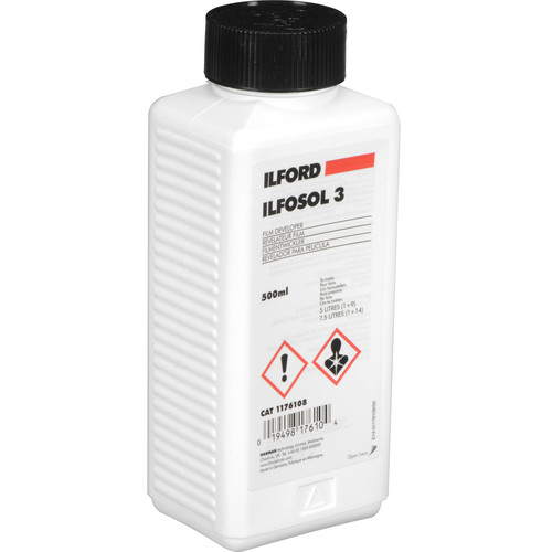 Ilford Ilfosol-3 Film Developer for Black and White Film (500ml)
