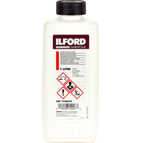 Ilford Harman Warmtone Developer for Black and White RC and Fiber-based Papers