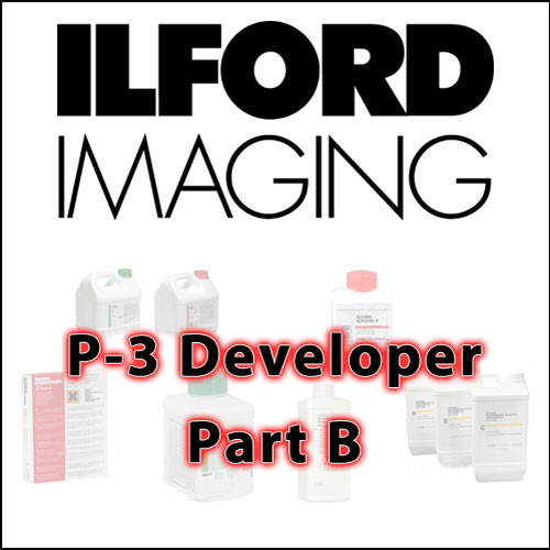 Ilford Ilfochrome P3 DE 3.20 Developer Part B (2L)