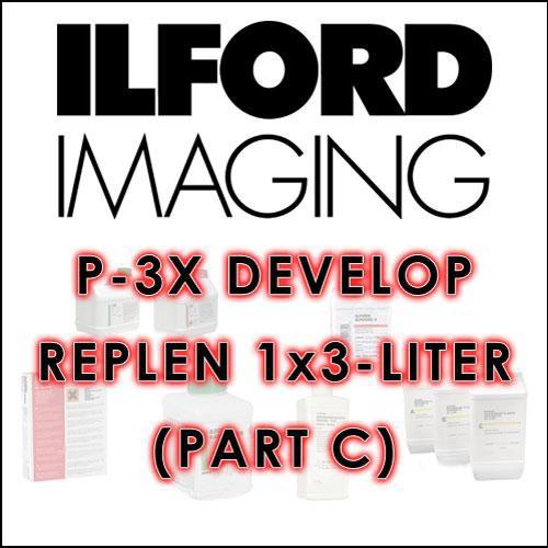 Ilford P-3X Developer Replenisher - Part C (1 x 3 Liters)