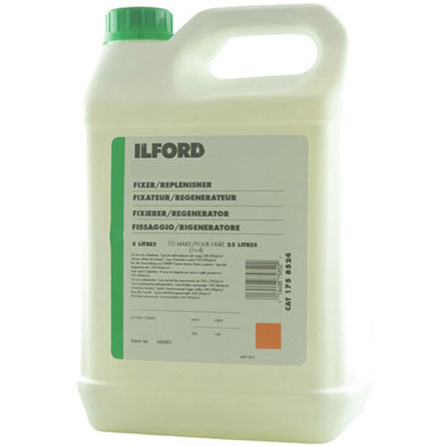 Ilford P-3 Fixer & Replenisher for Ilfochrome Paper (Two 5 Liter Packages)