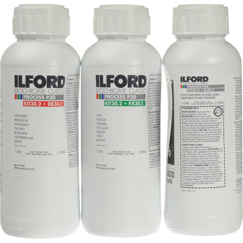 Ilford P-30 (Liquid) Kit for Ilfochrome Paper - 2 Liters