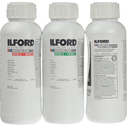 Ilford P-30 (Liquid) Kit for Ilfochrome Paper - 2 Liters