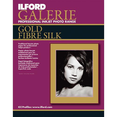 "Ilford Ilford Galerie Gold Fibre Silk Paper (Type C, 17 x 22"" - 10 Sheets)"