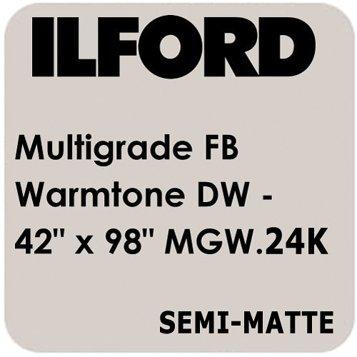 "Ilford Multigrade FB Warmtone Paper (Semi-Matt, 42"" x 98' Roll)"