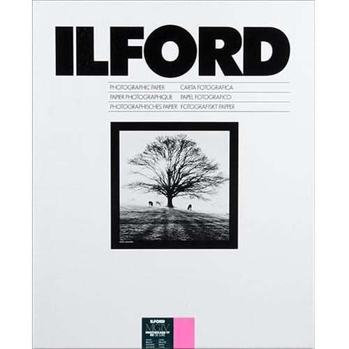 """Ilford Multigrade IV RC Deluxe MGD.1M Black & White Variable Contrast Paper (20 x 24"""", Glossy, 10 Sheets)"""