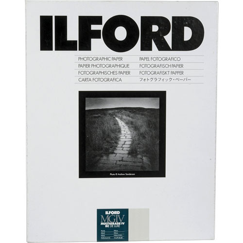 "Ilford Multigrade IV RC DeLuxe Paper (Pearl, 9.5 x 12"", 10 Sheets)"
