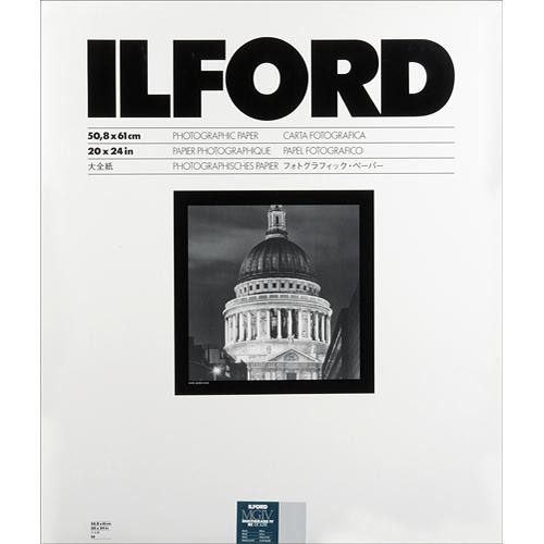 "Ilford Multigrade IV RC DeLuxe Paper (Pearl, 20 x 24"", 10 Sheets)"