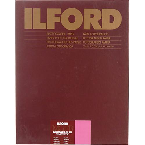 """Ilford Multigrade FB Warmtone Paper (Glossy, 8 x 10"""" , 25 Sheets)"""