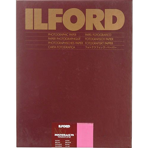 "Ilford Multigrade FB Warmtone Paper (Glossy, 11 x 14"" , 10 Sheets)"