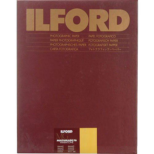 "Ilford Multigrade FB Warmtone Paper (Semi-Matt, 16 x 20"" , 10 Sheets)"