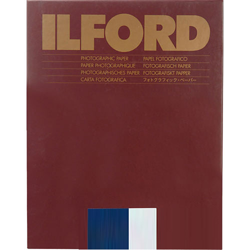 """Ilford Multigrade Warmtone Resin Coated Paper (8 x 10"""", Pearl, 25 Sheets)"""