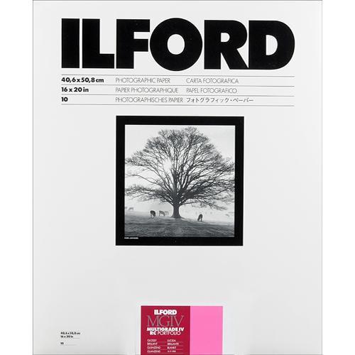 "Ilford Multigrade IV RC Portfolio Paper (Glossy, 16 x 20"", 10 Sheets)"