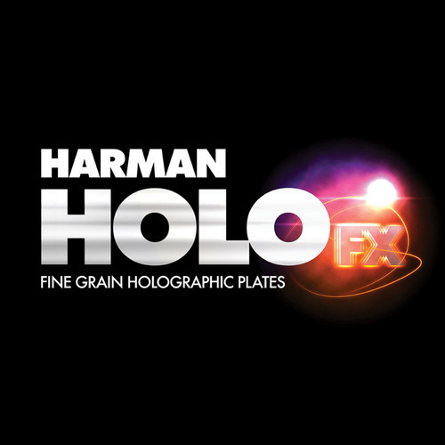 "Ilford Harman Red Sensitive Holographic Plates (8 x 10"")"